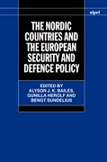 Cover for The Nordic Countries and the European Security and Defence Policy