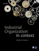 Cover for Industrial Organization in Context