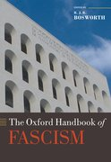 Cover for The Oxford Handbook of Fascism