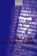 Cover for Sound Change and the History of English