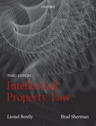 Bently and Sherman: Intellectual Property Law 3e
