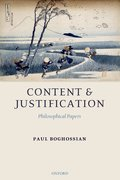 Cover for Content and Justification