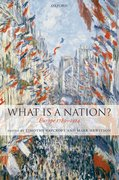 Cover for What Is a Nation?