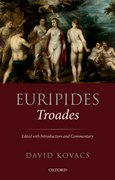 Cover for Euripides: <em>Troades</em> - 9780199296156