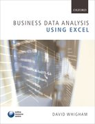 Whigham: Business Data Analysis using Excel