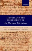 Cover for Milton and the Manuscript of <em>De Doctrina Christiana</em>
