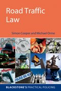 Cover for Road Traffic Law