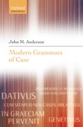 Cover for Modern Grammars of Case