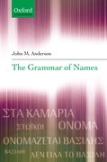 Cover for The Grammar of Names