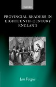 Cover for Provincial Readers in Eighteenth-Century England