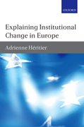 Cover for Explaining Institutional Change in Europe