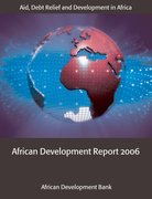 Cover for African Development Report 2006