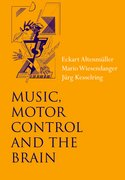 Cover for Music, Motor Control and the Brain