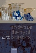 Cover for Molecular Theory of Solutions
