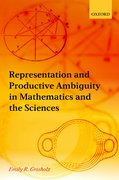 Cover for Representation and Productive Ambiguity in Mathematics and the Sciences