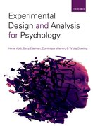 Cover for Experimental Design & Analysis for Psychology