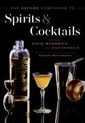Cover for The Oxford Companion to Spirits and Cocktails
