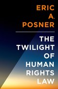 Cover for The Twilight of Human Rights Law