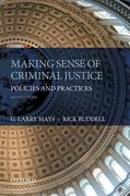 Cover for Making Sense of Criminal Justice