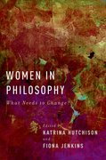 Cover for Women in Philosophy