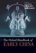Cover for The Oxford Handbook of Early China