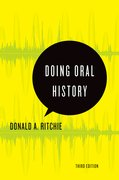 Cover for Doing Oral History
