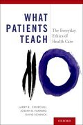 Cover for What Patients Teach