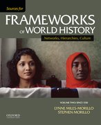 Cover for Sources for Frameworks of World History