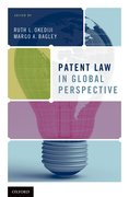 Cover for Patent Law in Global Perspective