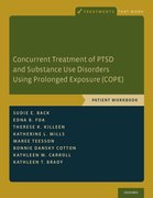 Cover for Concurrent Treatment of PTSD and Substance Use Disorders Using Prolonged Exposure (COPE)