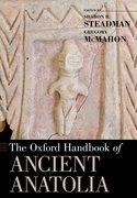 Cover for The Oxford Handbook of Ancient Anatolia