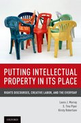 Cover for Putting Intellectual Property in its Place