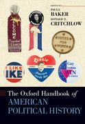 Cover for The Oxford Handbook of American Political History