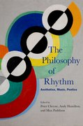 Cover for The Philosophy of Rhythm - 9780199347780