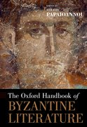 Cover for The Oxford Handbook of Byzantine Literature
