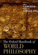 Cover for The Oxford Handbook of World Philosophy