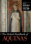 Cover for The Oxford Handbook of Aquinas