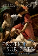 Cover for Erotic Subjects
