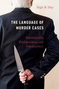 Cover for The Language of Murder Cases