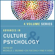 Cover for Advances in Culture and Psychology, 4-Volume Set