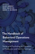 Cover for The Handbook of Behavioral Operations Management