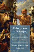 Cover for Exhortations to Philosophy
