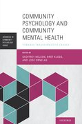 Cover for Community Psychology and Community Mental Health