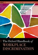Cover for The Oxford Handbook of Workplace Discrimination
