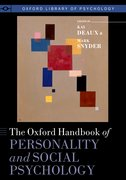 Cover for The Oxford Handbook of Personality and Social Psychology