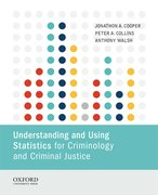 Cover for Understanding and Using Statistics for Criminology and Criminal Justice