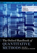 Cover for The Oxford Handbook of Quantitative Methods in Psychology, Volume 2