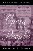 Cover for Opera for the People