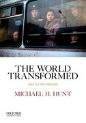 Cover for The World Transformed