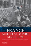 Cover for France and Its Empire Since 1870